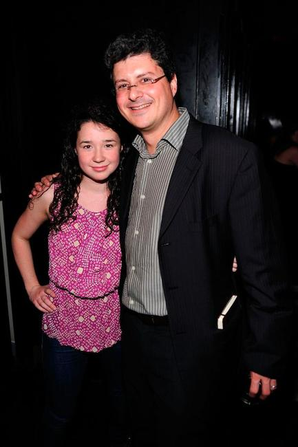 Sarah Steele and Anthony Bragman at the after party of